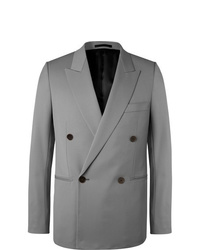 Blazer croisé gris The Row
