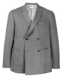 Blazer croisé gris Thom Browne