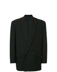 Blazer croisé noir Comme Des Garçons Vintage