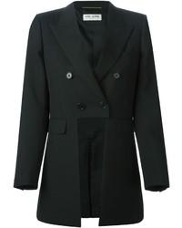 Blazer croisé noir Saint Laurent