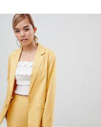 Blazer doré Fashion Union Petite