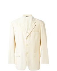 Blazer en coton beige Moschino Vintage