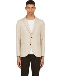 Blazer en coton beige Tiger of Sweden