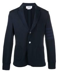 Blazer en coton bleu marine Thom Browne