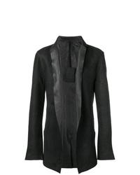 Blazer en cuir noir 10Sei0otto