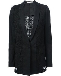 Blazer en dentelle noir Givenchy