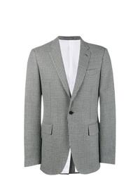 Blazer en laine à carreaux gris Calvin Klein 205W39nyc