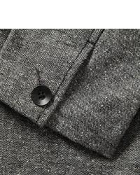 Blazer en laine à chevrons gris Rag and Bone