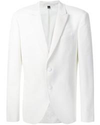 Blazer en laine blanc