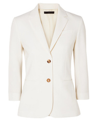 Blazer en laine blanc The Row