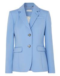 Blazer en laine bleu clair Altuzarra