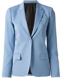 Blazer en laine bleu clair Gucci