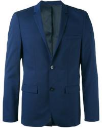 Blazer en laine bleu marine Calvin Klein
