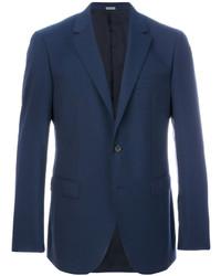 Blazer en laine bleu marine Lanvin