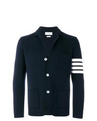 Blazer en laine bleu marine Thom Browne