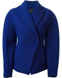 Blazer en laine bleu Proenza Schouler