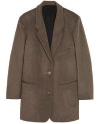 Blazer en laine brun Christophe Lemaire