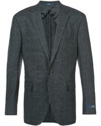 Blazer en laine écossais gris foncé Polo Ralph Lauren