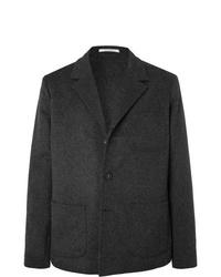 Blazer en laine gris foncé Massimo Alba