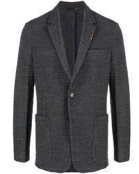 Blazer en laine gris foncé Paul Smith
