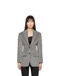 Blazer en laine gris Alexander Wang