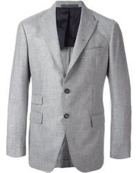 Blazer en laine gris Eleventy