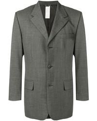 Blazer en laine gris Versace Pre-Owned