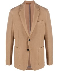 Blazer en laine marron clair Paul Smith