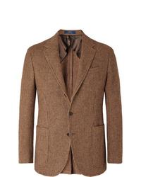 Blazer en laine marron Polo Ralph Lauren