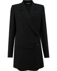 Blazer en laine noir Ann Demeulemeester