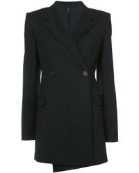 Blazer en laine noir Helmut Lang