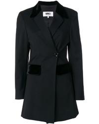 Blazer en laine noir MM6 MAISON MARGIELA