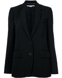 Blazer en laine noir Stella McCartney