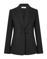Blazer en laine noir Victoria Beckham