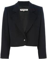 Blazer en laine noir Yves Saint Laurent