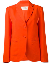Blazer en laine orange Ports 1961