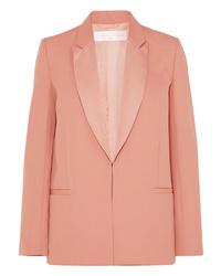 Blazer en laine rose Victoria Victoria Beckham