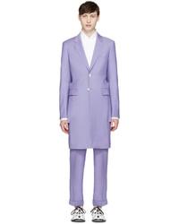 Blazer en laine violet clair Comme des Garcons