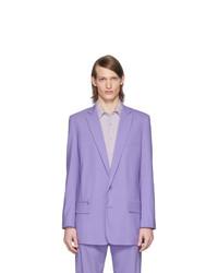 Blazer en laine violet clair Tibi