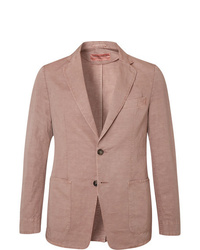 Blazer en lin rose Officine Generale