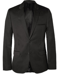 Blazer en soie noir Calvin Klein