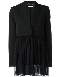 Blazer en soie noir Givenchy