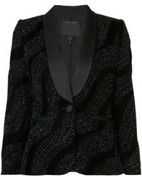 Blazer en soie noir Marc Jacobs