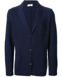 Blazer en tricot bleu marine Closed