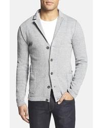 Blazer en tricot gris