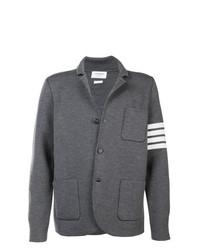 Blazer en tricot gris Thom Browne