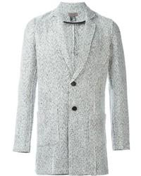 Blazer en tweed blanc