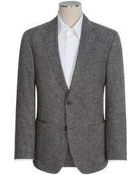 Blazer en tweed gris