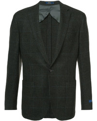 Blazer en tweed texturé marron foncé Polo Ralph Lauren