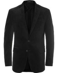 Blazer en velours côtelé noir Polo Ralph Lauren
